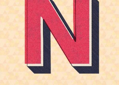 N is Perfect Buchstabe N
